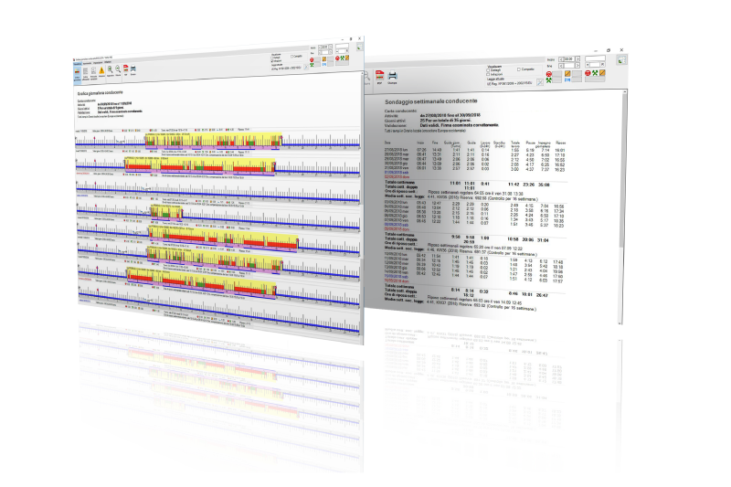 Software Tachigrafo Attività conducente